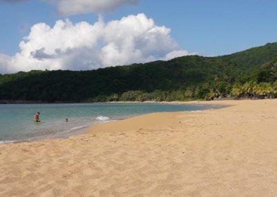 Plage de la Perle à Deshaies, Guadeloupe